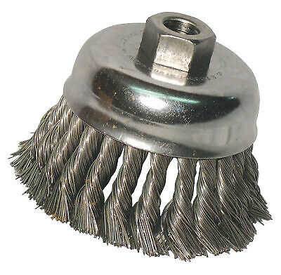 "Anchor 2-3/4"" Knot Cup Brush .014 5/8-11 Retail 94905  - 1 Each"