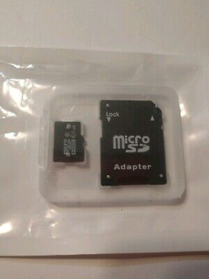 Micro SD 64GB Universal Flash TF Memory Card HC Class 10 with Adapter NEW