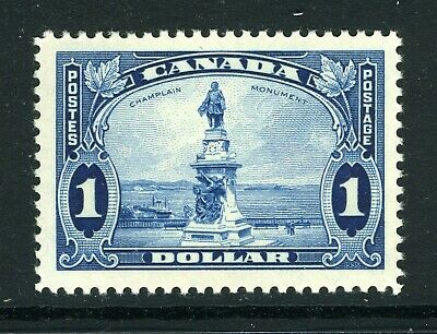 CANADA Scott 227 - NH - $1 Champlain Statue King George V Pictorial (.058)