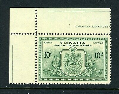 CANADA Scott E11 - NH - 10¢ Green Special Delivery (.007)