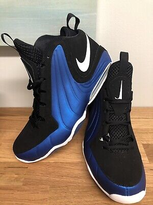 NEW NIKE AIR Max WAVY Men's Basketball Shoes Penny Blue