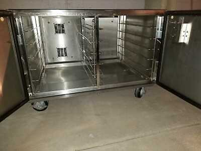 Proofer Warming oven Heater Holding Cabinet Insulated Holds 12 Pans On Rollers