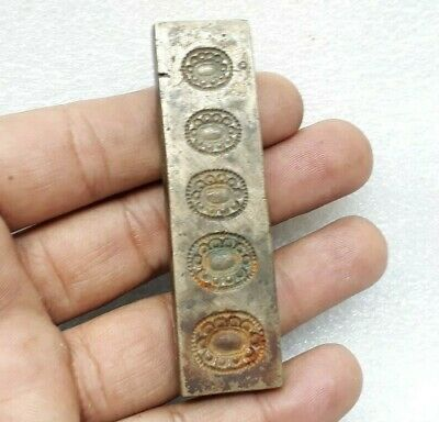 Vintage Ring Design Bronze Jewelry Making Tool Mold Seal Stamp Die MP