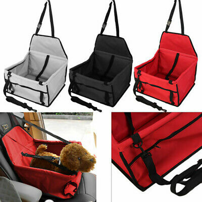 Durable Pet Cat Dog Protector Seat Travel Pet Safety Basket Safety Seat Booster