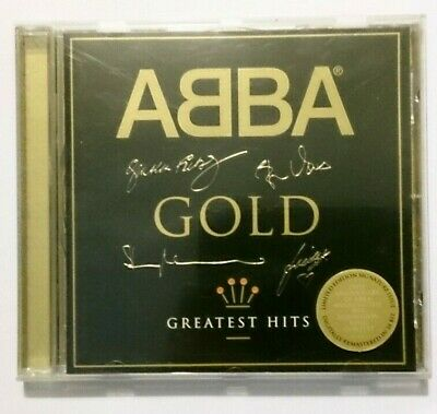 ABBA - Gold (Greatest Hits) - Sought after 'Signature' version VG+/NM/VG+ CD