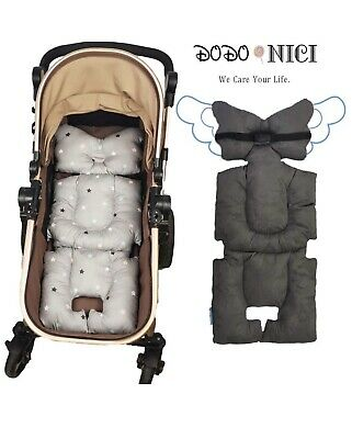 Stroller Liner Insert Car Seat Liner Cover, Infant Reversible Cotton Non Slip