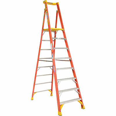 Werner PD6208 8' Type 1A Fiberglass Podium Ladder
