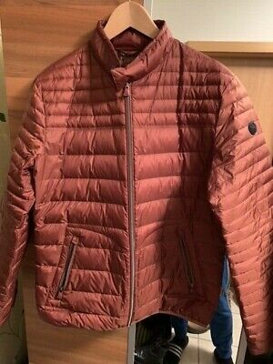 "BRAX DAUNENJACKE ""CLOUD"", Burnt Orange, Gr. 50, topp!! EUR"