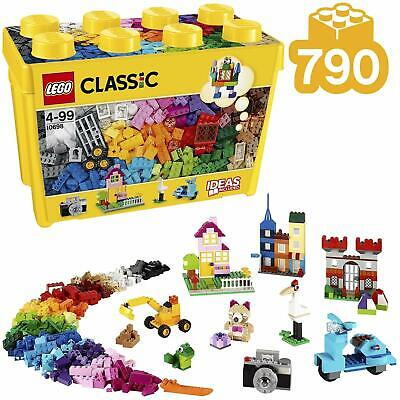 LEGO 10698 Classic Large Creative Brick Box Construction Set, Toy Storage, Fun