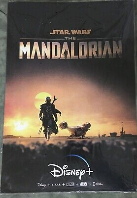 Star Wars The Mandalorian ORIGINAL Movie Poster