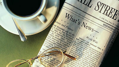 WSJ wall street journal 39 weeks Print only Subscription Home Delivery