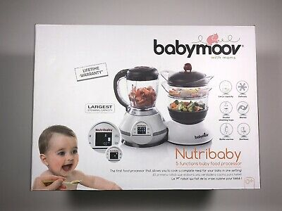Nutribaby Babymoov With Mums 5 Functions Baby Food Processor A001113