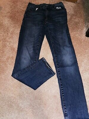 Big Boy Kid Boys GapKids Gap Jeans Pants 1969 Straight Size 12 Slim Fit