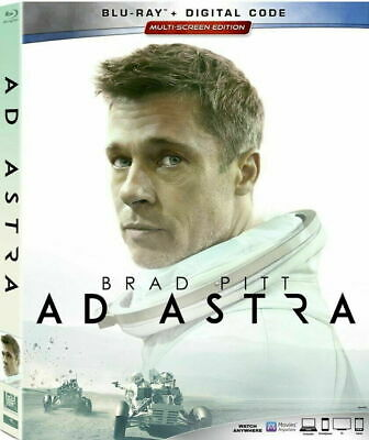 Ad Astra (Blu-ray, Digital, w/Slipcover, 2019) NEW