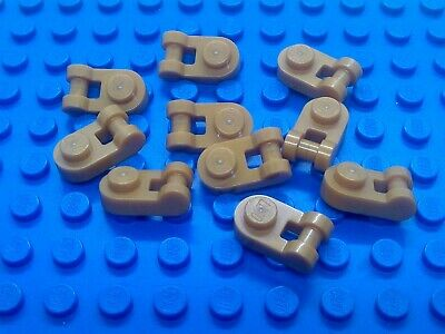 Lego 2x Platte 1x1 mit Griff Weiß White Plate Modified Handle 26047 Neuware New
