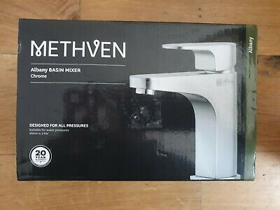 Methven Albany Mono Basin Tap with Waste - Chrome