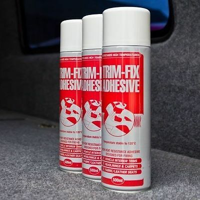 3x Trimfix Adhesive Tins 500ml High Temp Spray - SPECIAL OFFER !!
