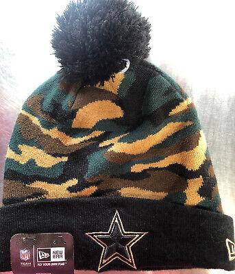 elegant shoes really cheap 100% authentic DALLAS COWBOYS NFL New Era Women's Sequin Frost Knit Hat With Pom ...