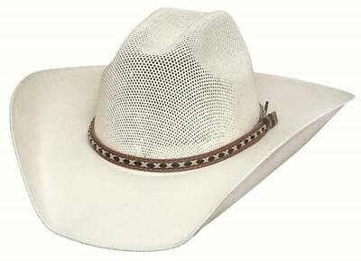 NEW Bullhide Hats 2654 Run A Muck Cowboy Collection Ok Corral Natural Cowboy Hat
