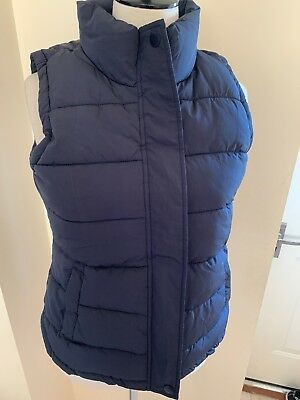 Joules Eastleigh Padded Gilet in MARINE NAVY Size 8 New With Tags