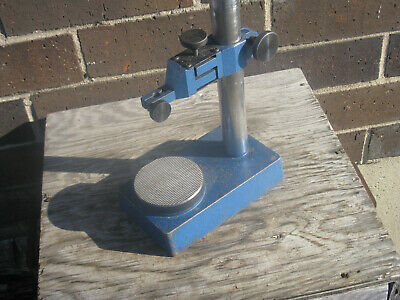 """Precision gage stand 11"""" tall with fine adjustment"""