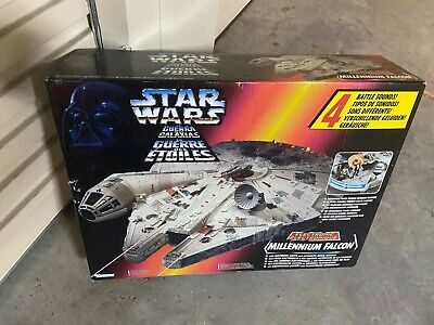Star Wars POTF Electronic Millennium Falcon 1995 Kenner Brand New Sealed Mexico