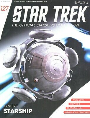 Star Trek Official Starship Collection Number 127 - Eymorg Starship
