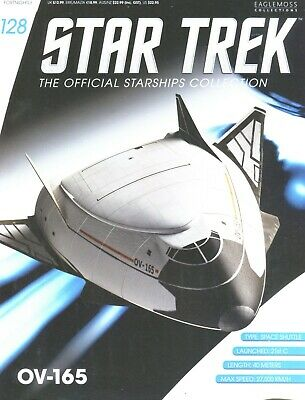 Star Trek Official Starship Collection Number 128 - OV-165 - Free Postage