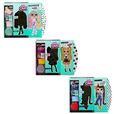 LOL Surprise OMG Fashion Doll Kids Dress Up Toy w/20 Surprises 6y+