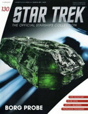 Star Trek Official Starship Collection Number 130 - Borg Probe - Free Postage