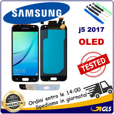 Display LCD Touch Screen Vetro Per Samsung Galaxy J5 2017 SM-J530F J530 OLED A++