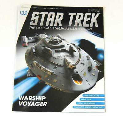 Star Trek Official Starship Collection Number 132 - Warship Voyager