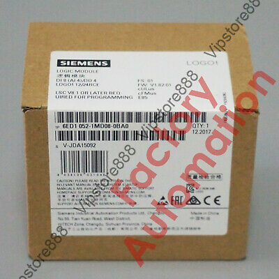 2017 *FACTORY SEAL*Siemens 6ED1052-1MD08-0BA0 Replace 6ED1052-1MD00-0BA8 Fast