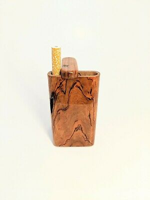Handmade Cherry Wood Dugout/One Hitter