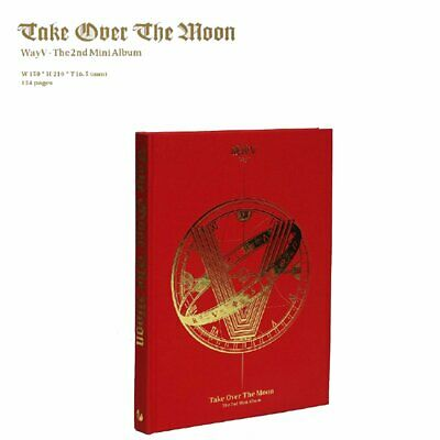 Official WayV 威神V NCT China WAY V 2nd Mini Album Take Over The Moon CD Fans Gift