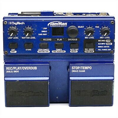 NO Sound - DigiTech JamMan LOOPER / PHASE SAMPLER Effect Pedal Made in USA