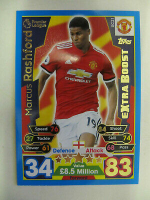Marcus Rashford - Man. Utd. (Match Attax Premiership 2017/18) UC21