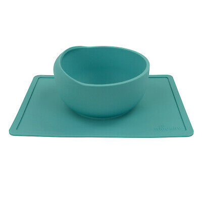 Modaliv Scooper Bowl with Silicone Placemat Suction Base - Non-Skid (1000mL)