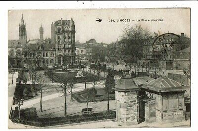 CPA-Carte Postale--France- Limoges -Place Jourdan -1917 VM10629