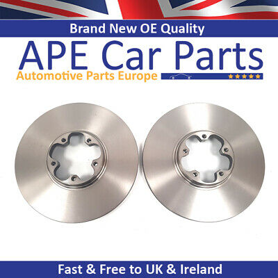 Ford Transit 06-2.4 TDCi RWD Box 138bhp Front Brake Pads Discs 300mm Vented