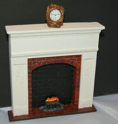 HEARTH /& FENDER  SET~Action Figures 1:6 scale ~ 3  PIECE  FIREPLACE SCREEN