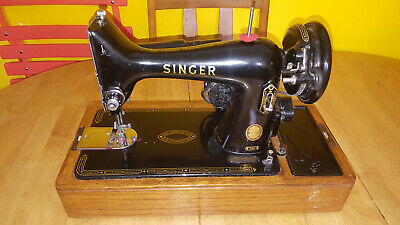 VINTAGE SINGER 99K Electric Sewing machine Excllent condition