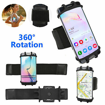 Universal Adjustable Cell Phone Holder Armband Sports Jogging For iPhone Samsung