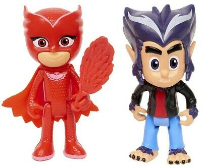 PJ Masks Owlette & Howler Action Figure 2-Pack Playset