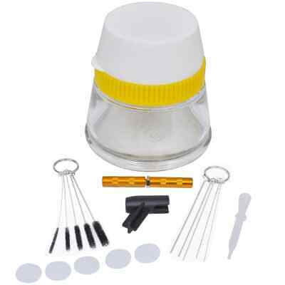 3in1 Airbrush Cleaning Set Paint Residue Removal Maintenance Accessories Kit