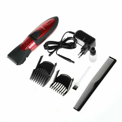 New Waterproof Rechargeable Men Electric Hair Beard Clipper Trimmer Shaver Set