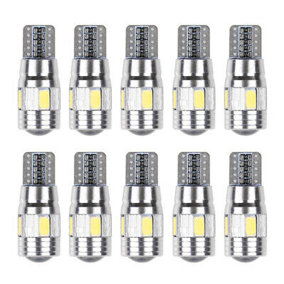 10x T10 501 194 W5W 5630 LED 6-SMD Car HID Canbus Error Free Wedge Light Lamp I