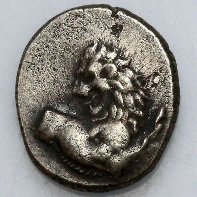 Ancient Greek coin Thrace Chersonesos Silver Hemidrachm 400-350 BC