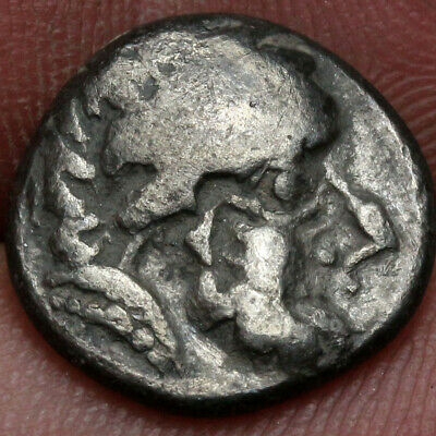 Ancient Celtic Coin Philip II AR Silver Drachm CA 200 BC