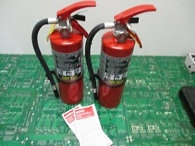 Sentry AA05S-1 Dry Chemical Extinguisher 442257 (Lot of 2)